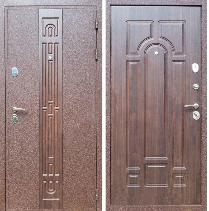 двери входные коричневый крокодил от производителя