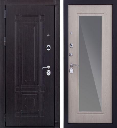 входная дверь с зеркалом в наличии