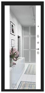 широкое зеркало бел софт
